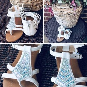 Other - Rhinestone Girls Sandals